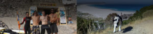 cape town surfing and yoga instructors