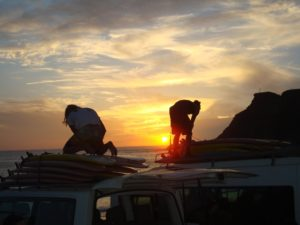 surf lessons cape town